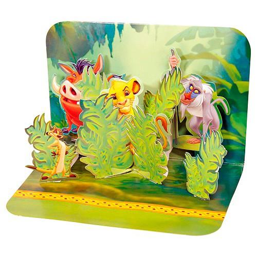 Blahopřání 3D Disney Zábava v džungli