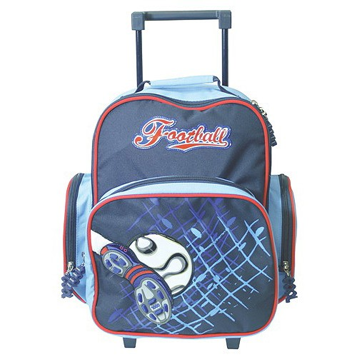 Školní batoh trolley Cool football kopačka & míč