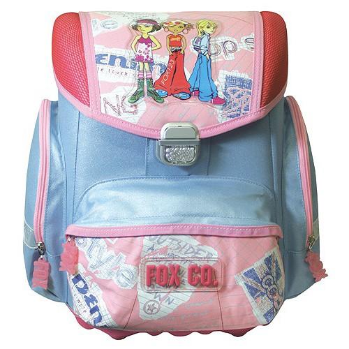 Školní aktovka Uno Cool fox co. Girls