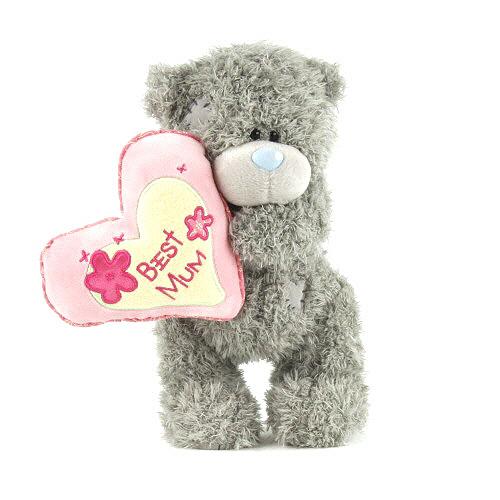 Medvídek Me to You Medvídek 19cm stojící se srdcem Best Mum,