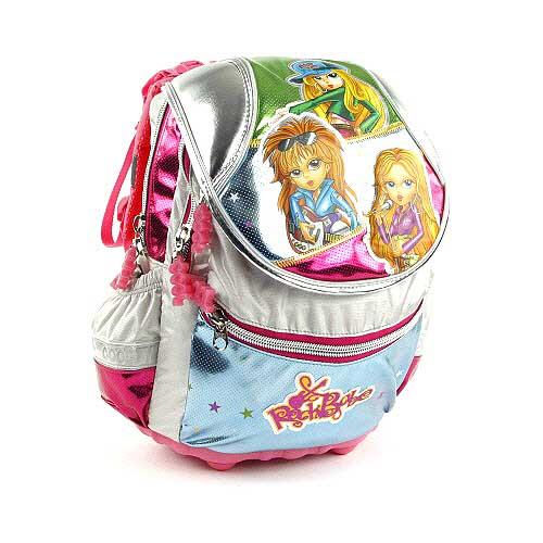 Školní batoh Cool RockBabe Girls silver