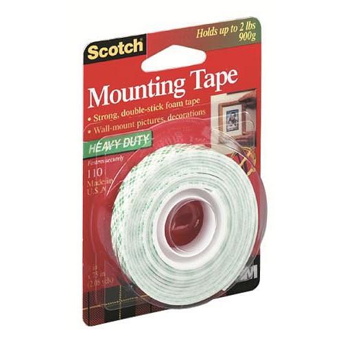 Lepicí páska oboustranná Scotch univerzální 12mm x 1,9m