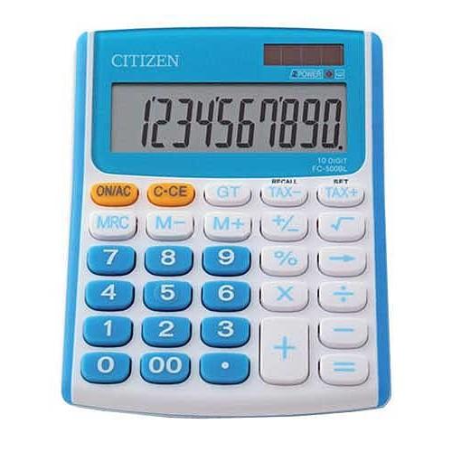 Kalkulačka Citizen Kalkulátor Citizen FC-500 modrá