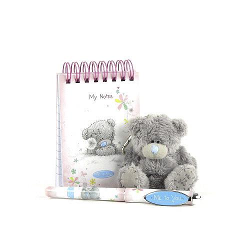 Dárkový set Me to You Dárkový set medvídek 3S, zápisník a pero