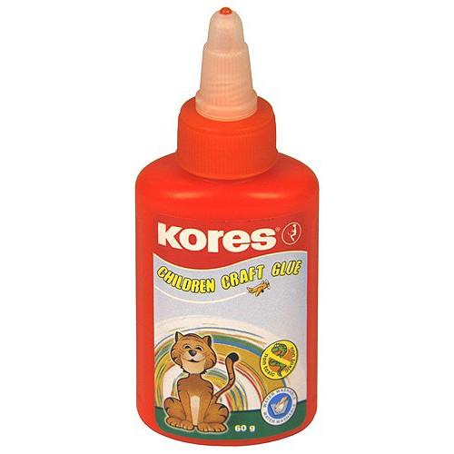 Tekuté lepidlo Kores Lepidlo tekuté dětské 60 g, Kores