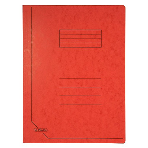 Desky A4 Herlitz Desky A4 červené, Herlitz