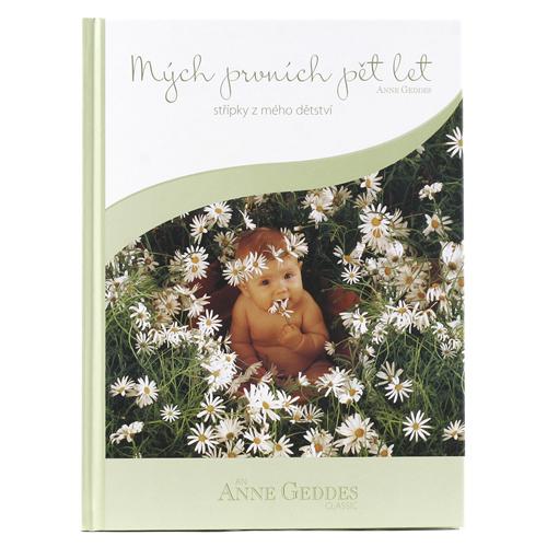 Anne Geddes Kniha Mých Prvních Pět Let Jaro kopretiny