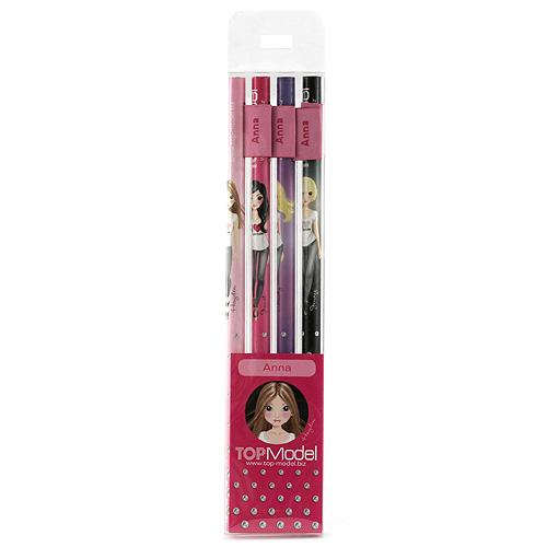 Tužky Top Model Tužky s vlaječkou Anna, Top Model