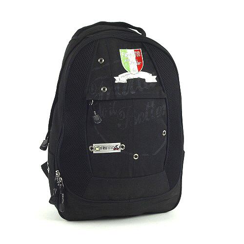 Studentský batoh Frutta Italia černá