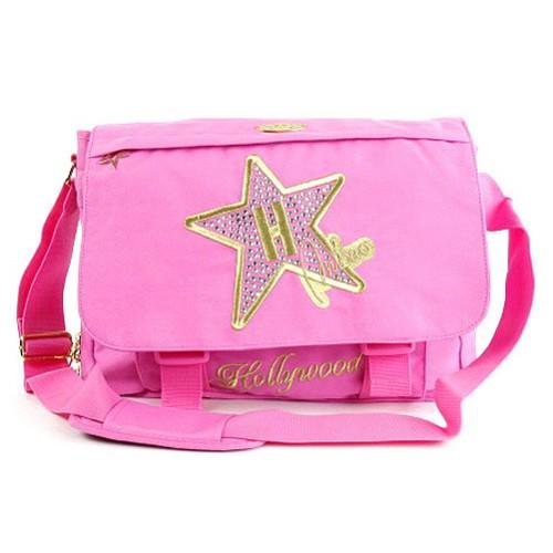 Taška přes rameno Hollywood Star Taška přes rameno růžová