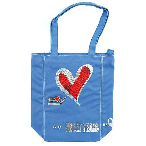 Nákupní taška Sweet Years Taška shopping modrá