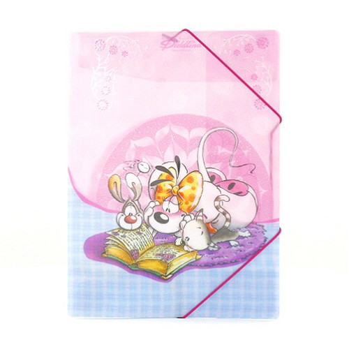 Diddl & Friends Desky A4 Diddlina Desky A4 s gumičkou Diddlina kniha