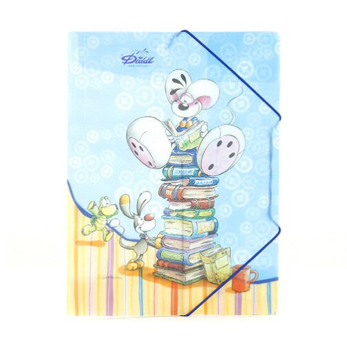 Diddl & Friends Desky A4 Diddlina Desky A4 s gumičkou Diddl knihy