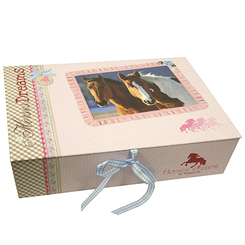 Box na uskladnění Horses Dreams Box na uskladnění růžová
