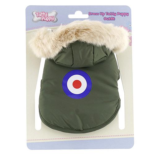 Outfit Tatty Puppy Me to You kabátek s kapuckou khaki