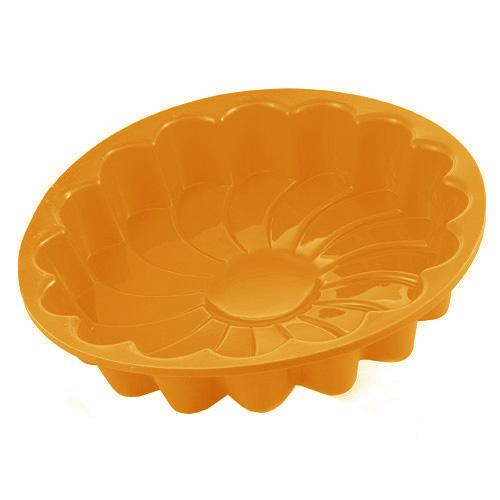 Pečící forma Smart cook silikonová oranžová květina