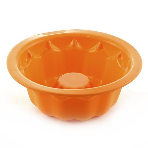 Pečící forma Smart Cook silikonová oranžová, bábovka