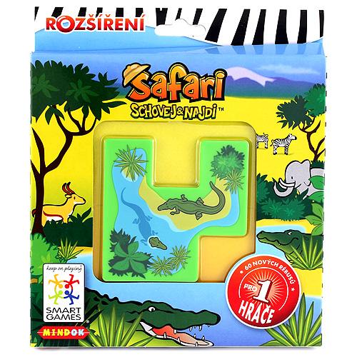 Safari Mindok nové rébusy ke hře Safari