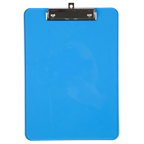 Podložka na psaní A4 Idena průsvitná modrá