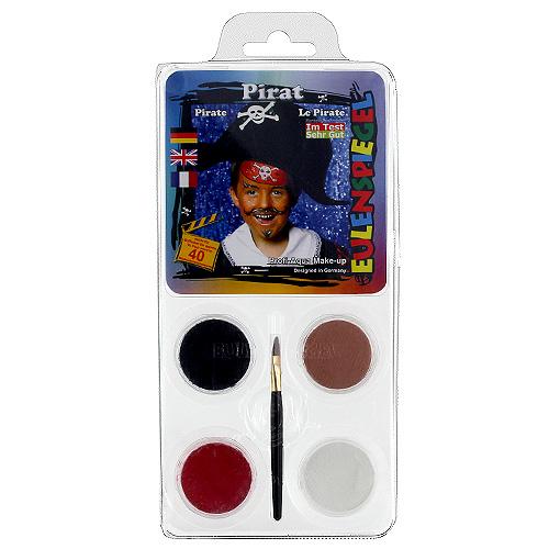 Barvy na obličej Eulenspiegel Barevné sady - Pirát