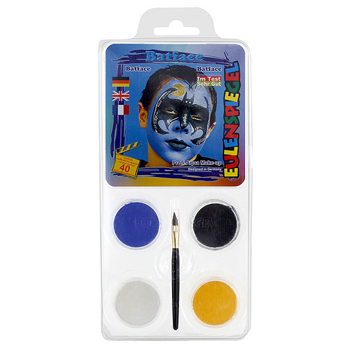 Barvy na obličej Eulenspiegel Barevné sady - Batman