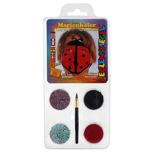 Barvy na obličej Eulenspiegel Barevné sady - Beruška