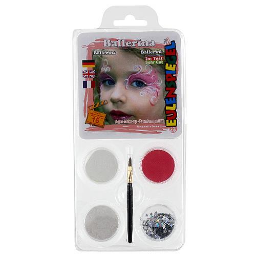 Barvy na obličej Eulenspiegel Barevné sady - Baletka