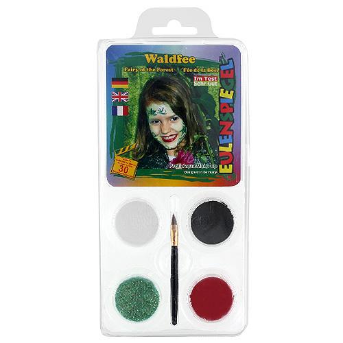 Barvy na obličej Eulenspiegel Barevné sady - Lesní víla