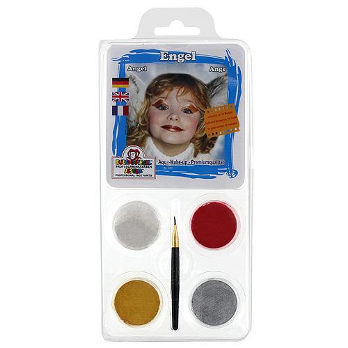 Barvy na obličej Eulenspiegel Barevné sady - Anděl