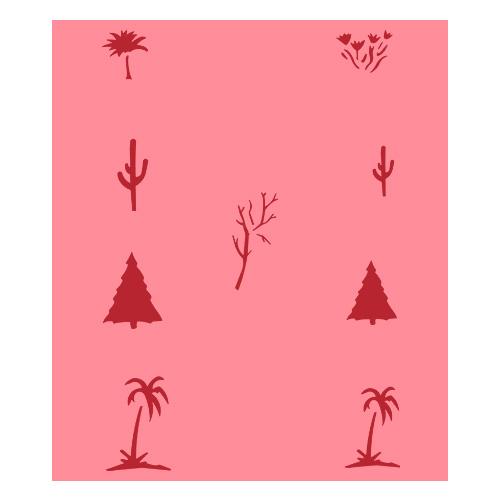 Eulenspiegel Airbrush šablona Airbrush šablony - Stromy