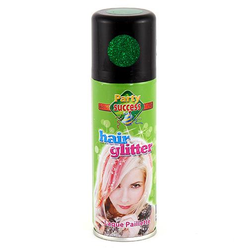 Sprej na vlasy Eulenspiegel Barva na vlasy sprej 125ml - Zelená třpytivá