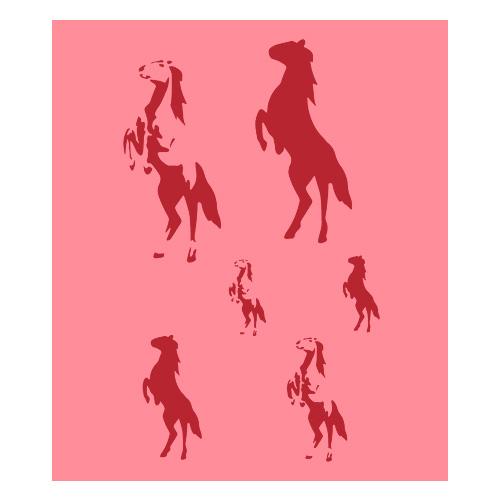 Eulenspiegel Airbrush šablona Airbrush šablony - Koně I.