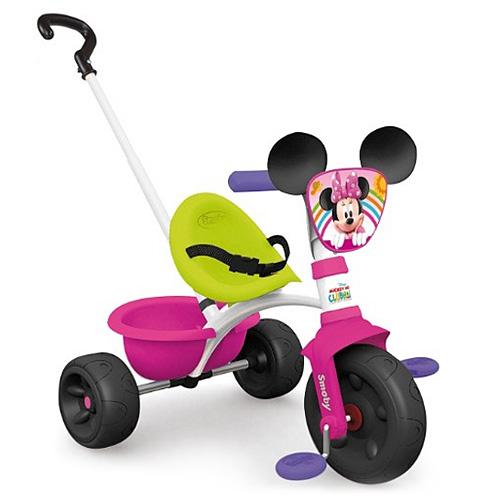 Tříkolka Smoby Be Move Minnie růžová - šlapací tříkolka