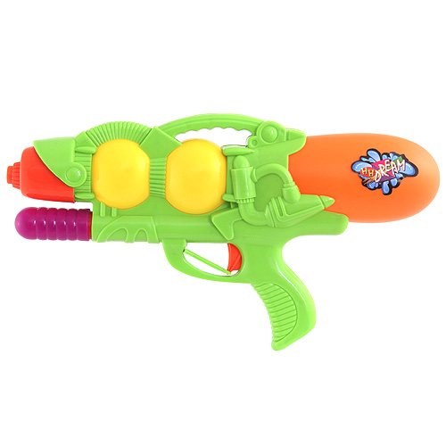 Vodní pistole Idena s čerpadlem zelená