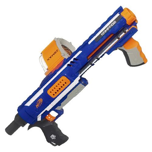 Hasbro NERF Elite puška s bubnovým zásobníkem rozložitelná, 25ks nábojů