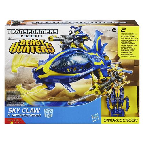 Transformers Hasbro Sky Claw a Smokescreen
