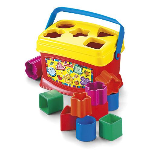 Mattel Vkládačka Fisher Price 10 barevných kostek