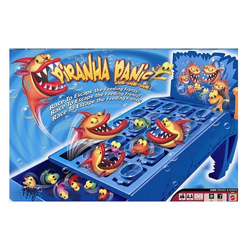 Útok piraní Hasbro Dětská hra pro 2-4 hráče