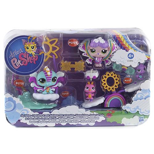 Zvířátka Littlest PetShop Hasbro okouzlující víly a houpačky