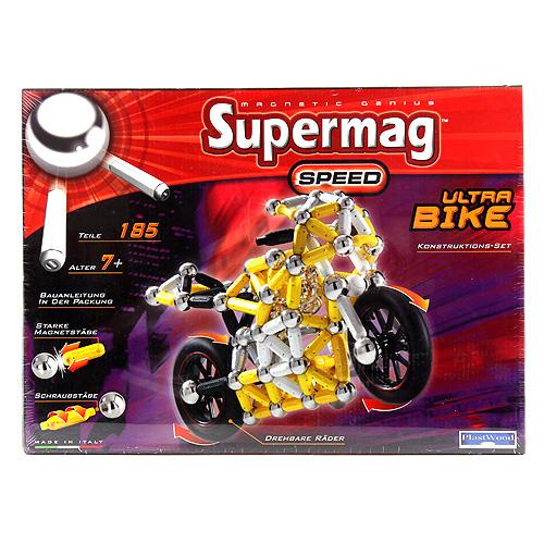 Stavebnice Supermag Motorky, 185 dílků