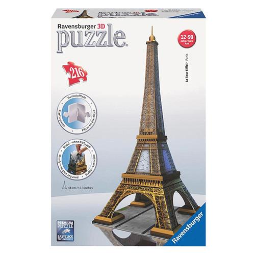 3D Puzzle Ravensburger Eiffelova věž, 216 dílků