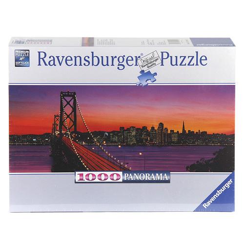 Puzzle Ravensburger San Francisco, 1000 dílků