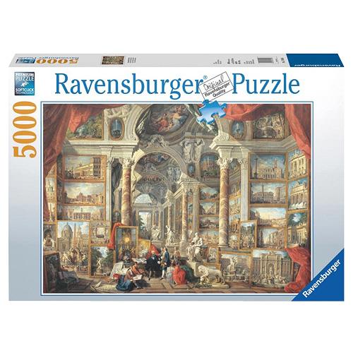 Puzzle Ravensburger Řím, pohled na umění, 5000 dílků