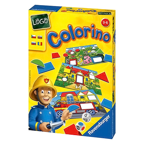 Colorino Ravensburger barvy a tvary