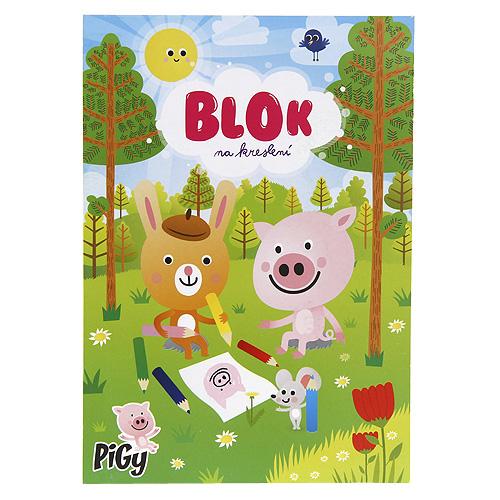 Blok na kreslení Pigy A5