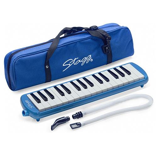 Harmonika Stagg modrá, 32 kláves