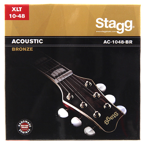Struny na kytaru Stagg bronze, extra light