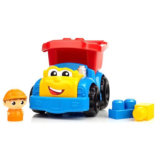 Nákladní auto Mega Bloks kostky a figurka řidiče