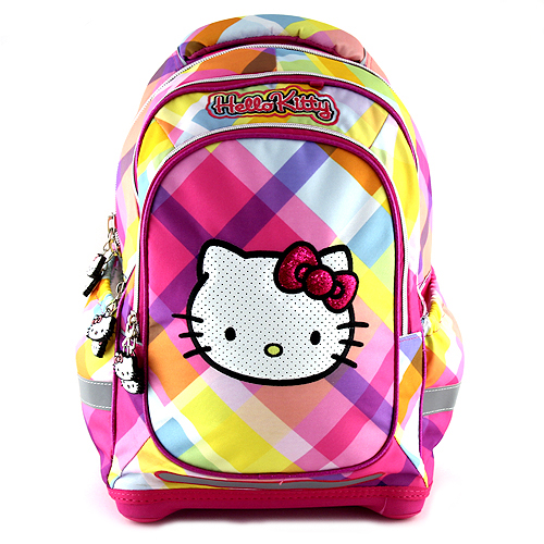 Školní batoh Hello Kitty Školní batoh Yellow Square