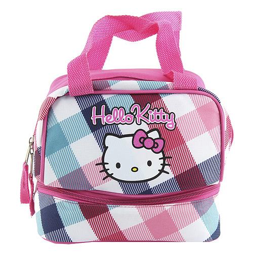 Taška svačinářka Hello Kitty barevné kostky